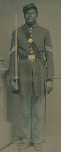 Picture of Sergeant Henry F. Steward